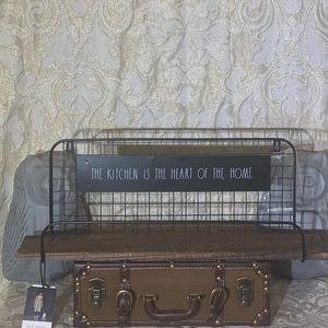 **SOLD On Mercari** Rae Dunn Kitchen Shelf